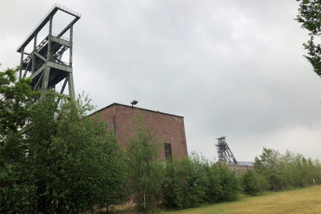 Hier, zwischen den beiden Schachtanlagen der ehemaligen Zeche Gneisenau, könnte eine neue Aldi-Filiale entstehen