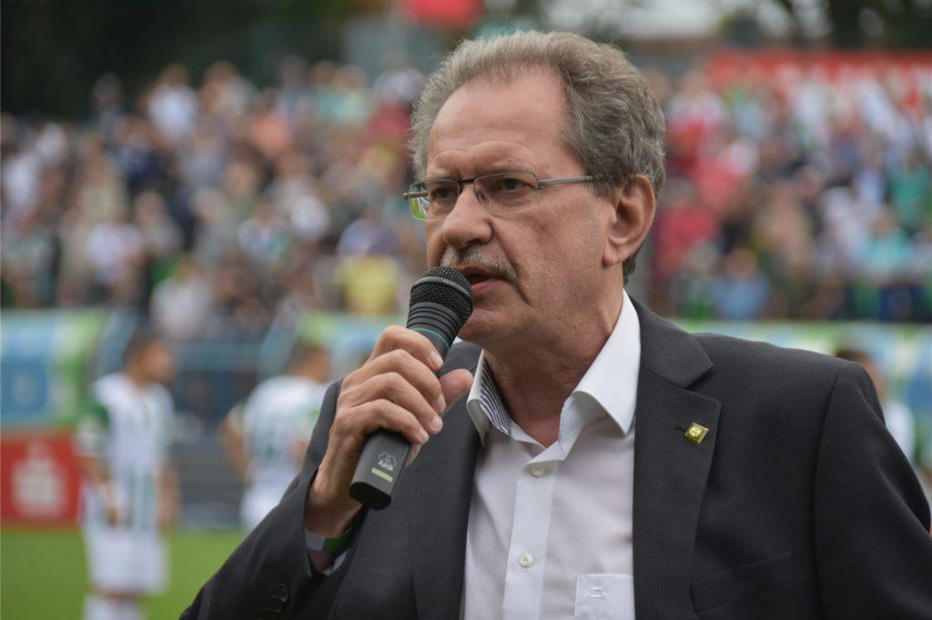 Reinhold Spohn aus Herne führt seit 2010 den Verbands-Fußball-Ausschuss an.