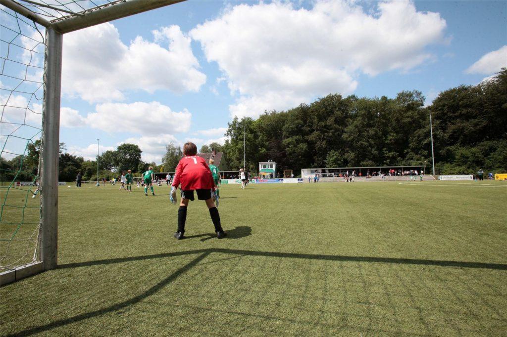 Beim TuS Eving-Lindenhorst hat der Trainingsbetrieb wieder begonnen (hier ein Archivbild). Präsident Peter Kowalski ist darüber nicht glücklich.