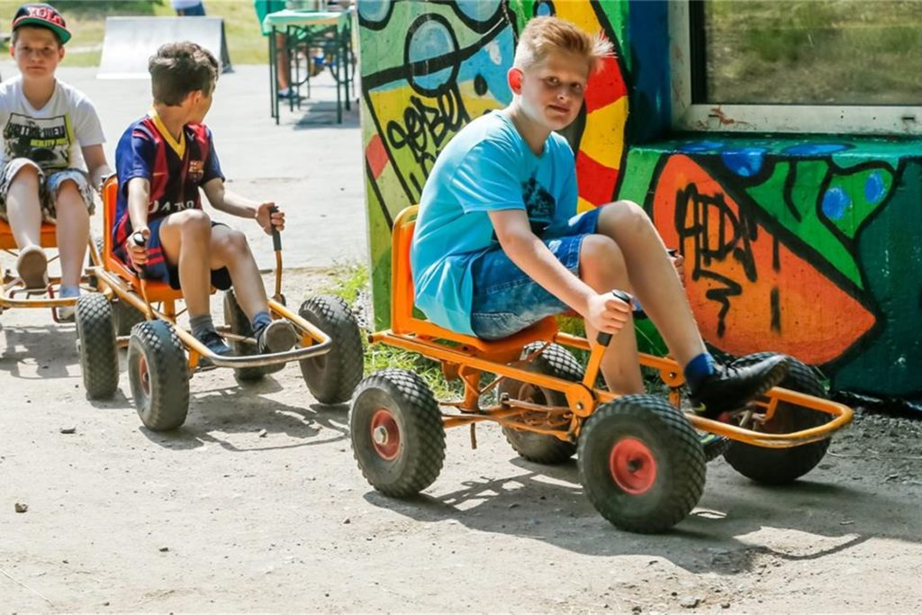 Bei den Ferienspielen in Rahm ist eigentlich immer viel los. In diesem Jahr müssen wie überall die Teilnehmerzahlen begrenzt werden.