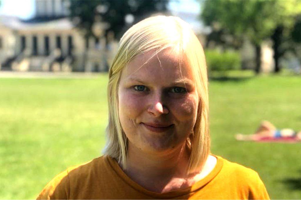 Lisa Glaremin, Sprachwissenschaftlerin und Doktorandin an der Universität Bonn, ist eine der wissenschaftlichen Mitarbeiterinnen des Projektes.