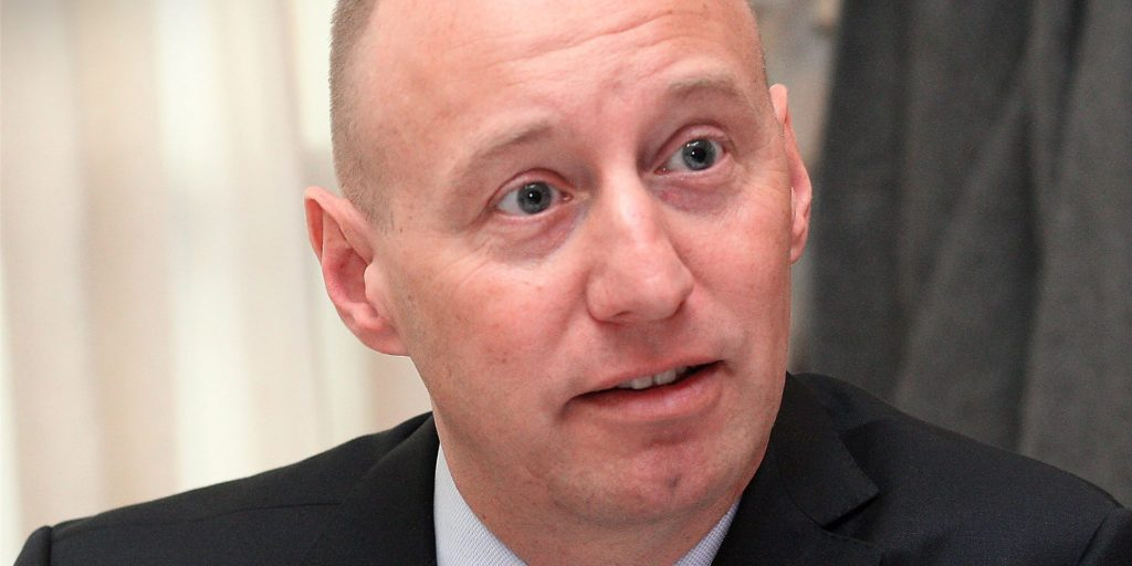 Michael Kauch, 1967 geboren, kandidiert für die FDP als Oberbürgermeisterkandidat in Dortmund.