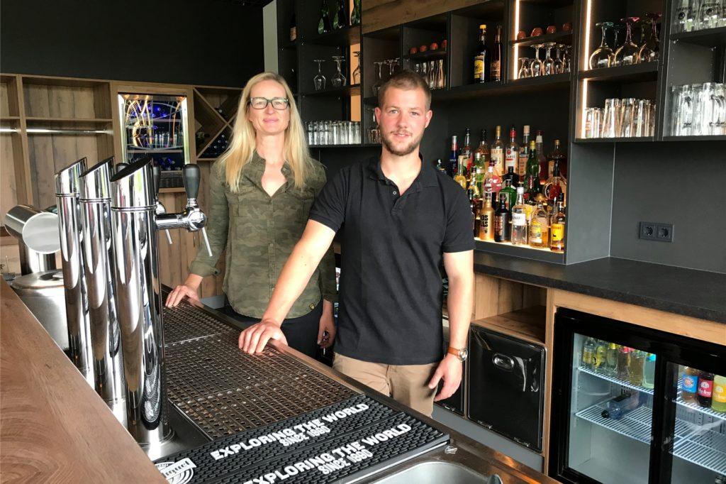 Nicole Paffrath und Kevin Eck freuen sich ab dem 9. Juli auf Gäste im frisch renovierten Restaurant