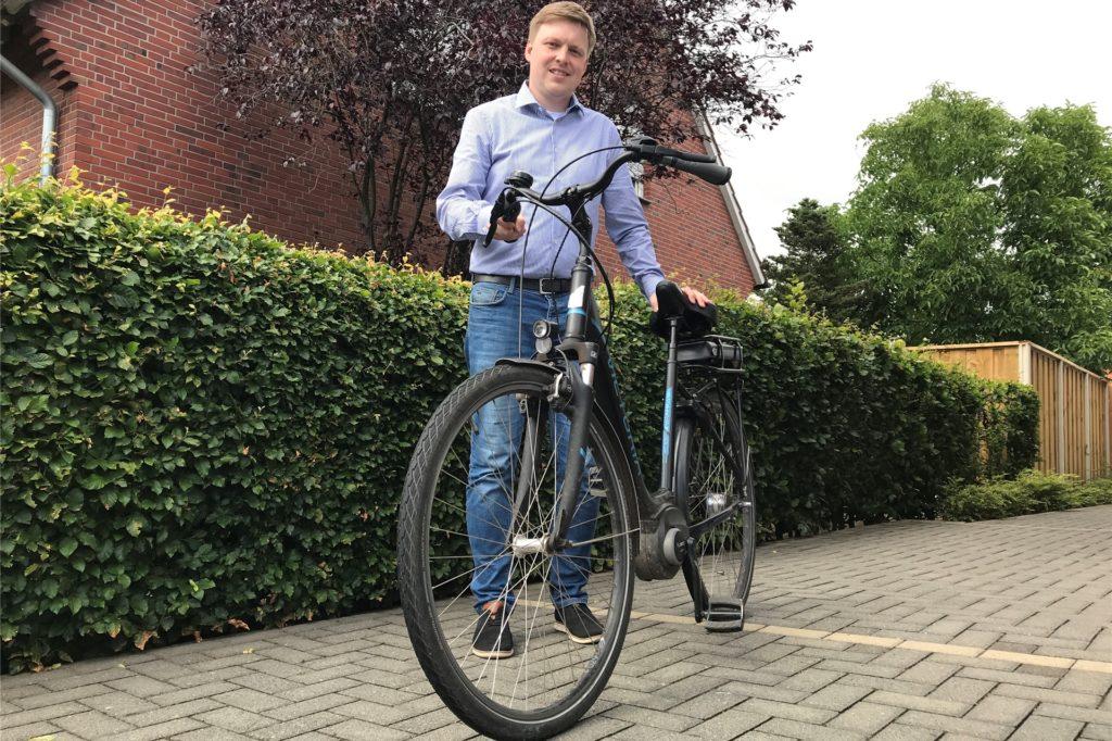 Radfahren nennt Markus Janning als eines seiner Hobbys.