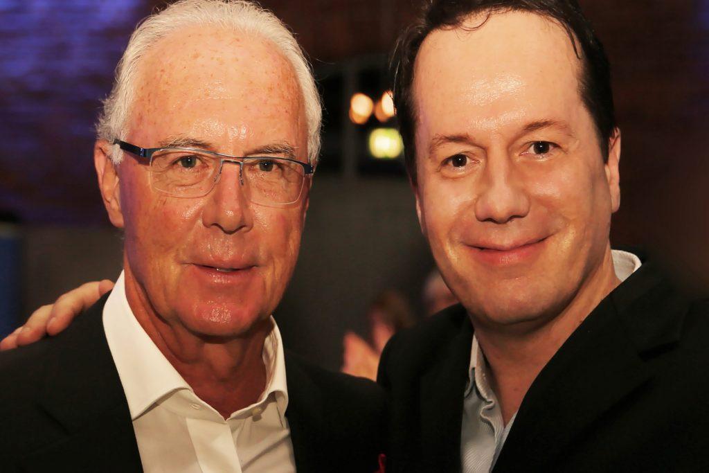 Die Promis, die er nachahmt, hat der Berliner Jörg Hammerschmidt alle schon persönlich getroffen. Auch Franz Beckenbauer.