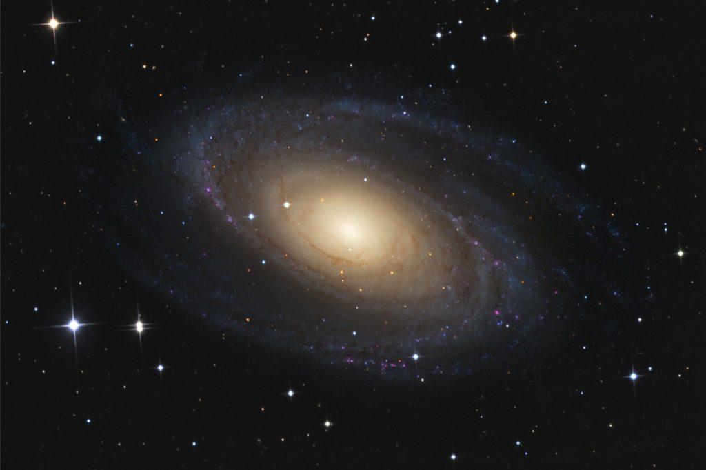 Messier 81, eine Galaxie im Sternbild Großer Wagen.
