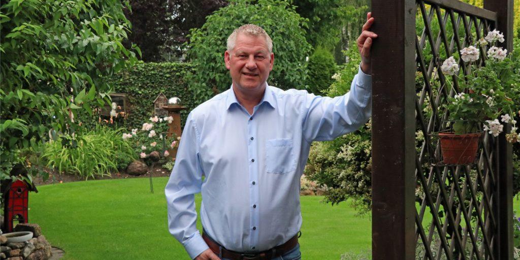 Dieter Berkemeier möchte Bürgermeister von Legden werden. Das Rathaus kennt er schon lange: Der Verwaltungsfachwirt arbeitet über 30 Jahre dort.