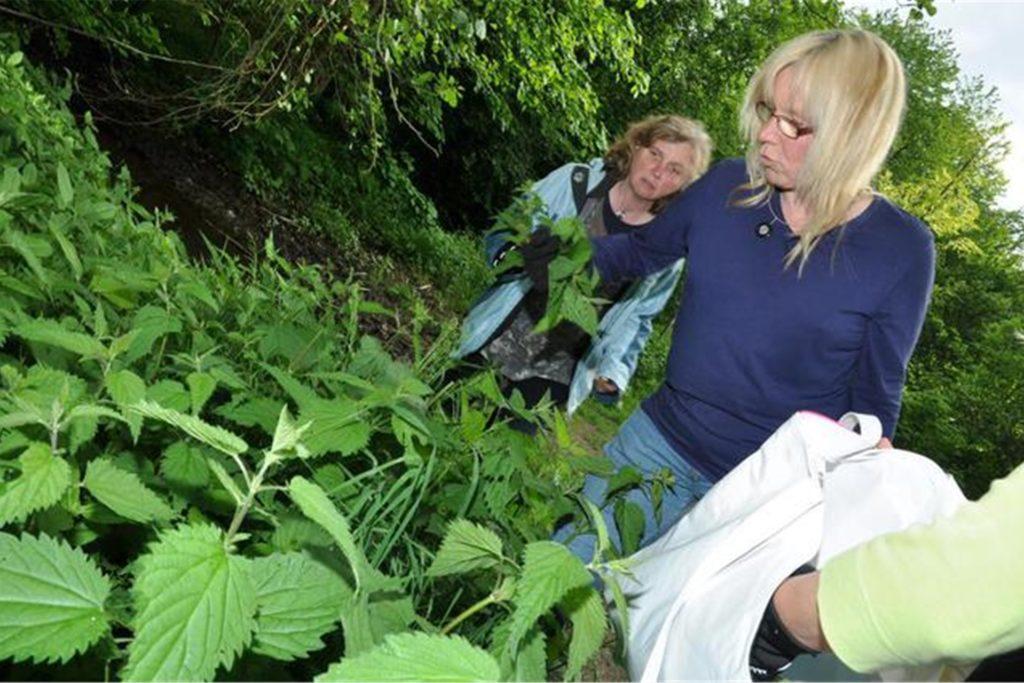 Andrea Hirsch nennt sich selbst Waldlehrerin und möchte den Kindern die Natur näherbringen.