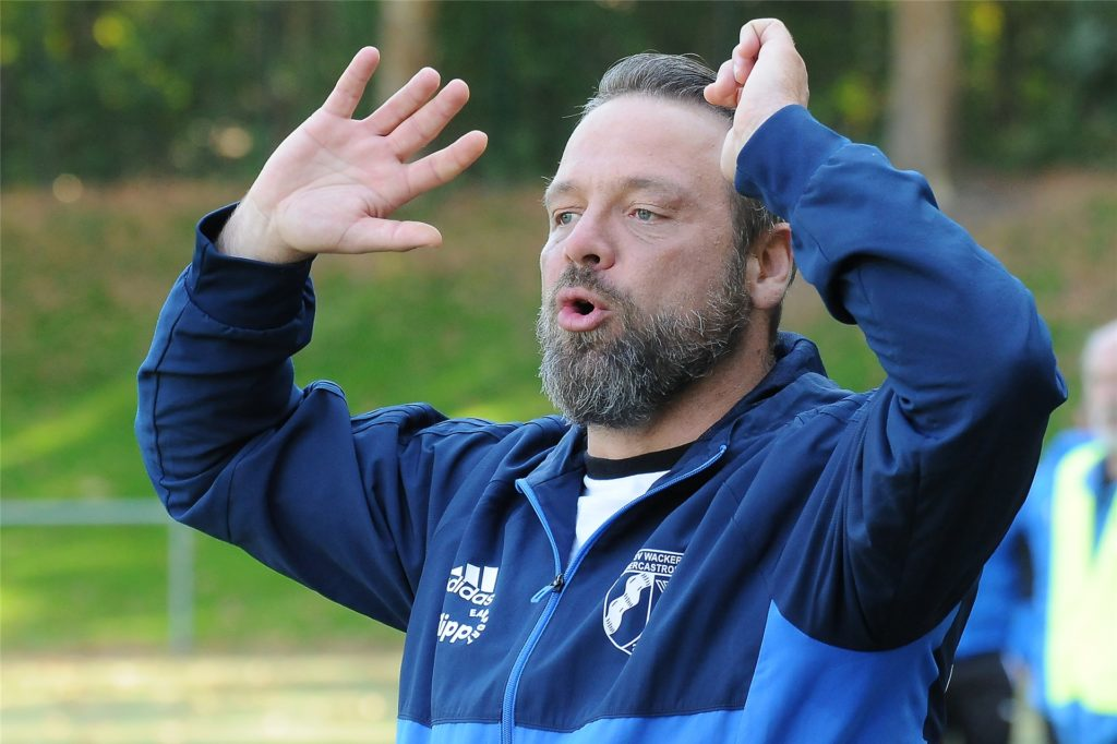 Wacker-II-Trainer Christian Heyn.
