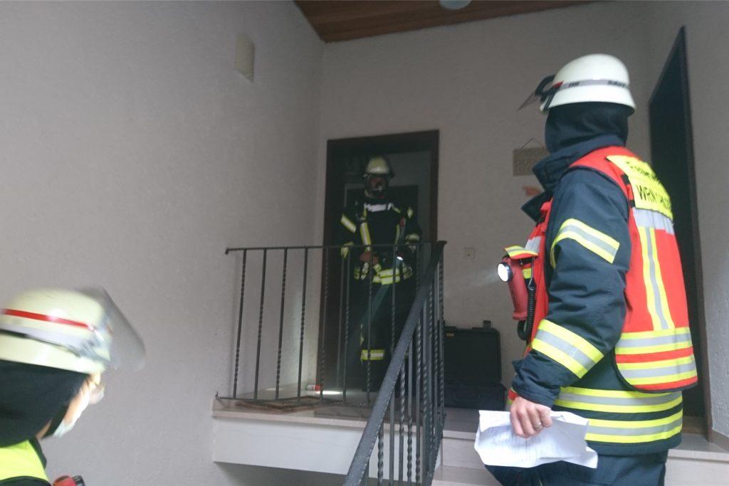 In einer Dachgeschosswohnung ist es am Samstagnachmittag in Werne zu einer Rauchentwicklung gekommen.