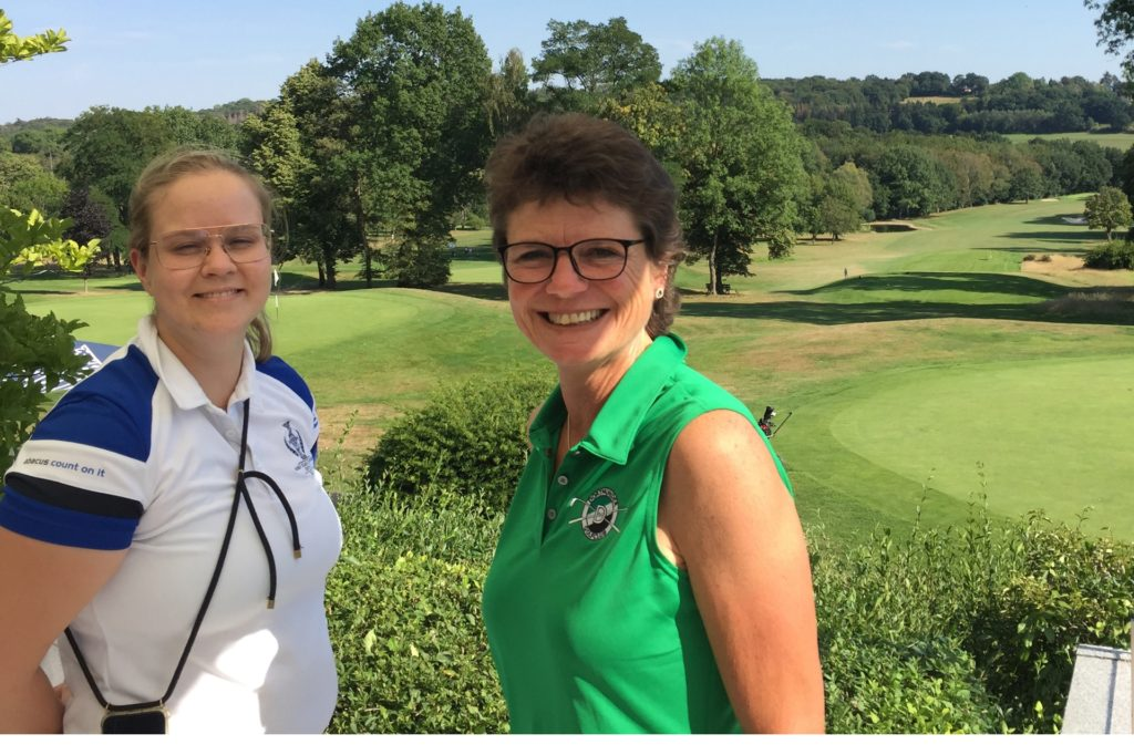 Clubmanagerin Amelie Bernsdorf (l.)und Präsidentin Andrea Marx. Sie sind froh, dass nun endlich etwas passieren soll.