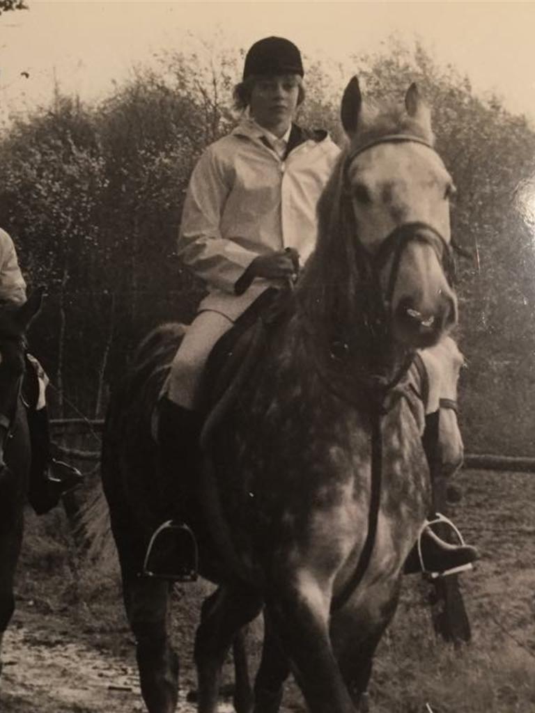 Im Alter von 13 Jahren bekam Hubert Schröer sein erstes Großpferd