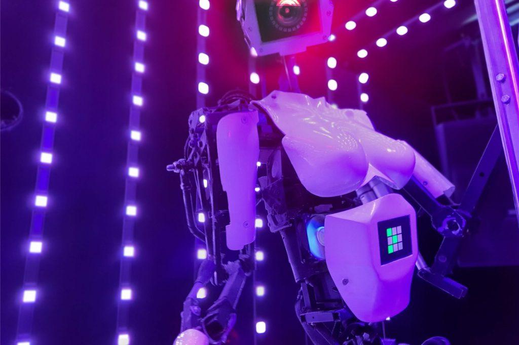 Tanzende Roboter wird es auch im Next One geben.