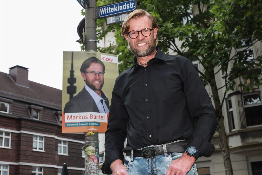 Markus Bartel kandidiert für die CDU und will in den Rat der Stadt Dortmund einziehen.