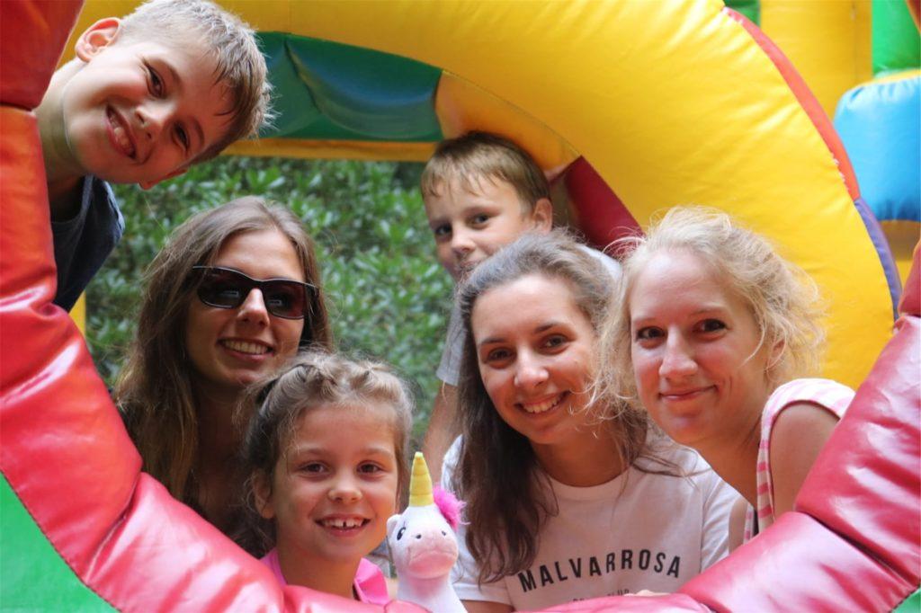 Viele Aktivitäten einer Ferienfreizeit in Warstein spielen sich draußen ab