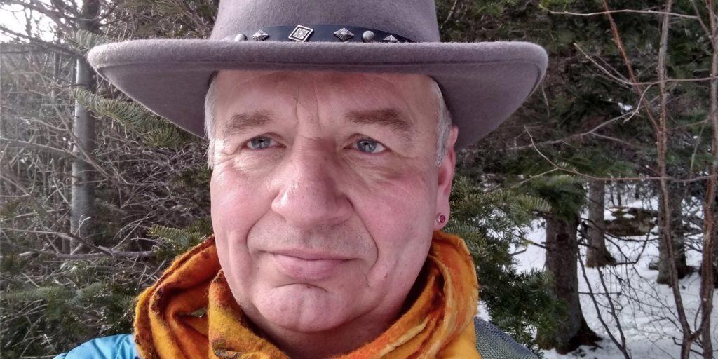 Der Lüner Peter Gresch - hier bei einem Ausflug in New Hampshire - lebt seit 33 Jahren in den USA und darf im November auch wählen.