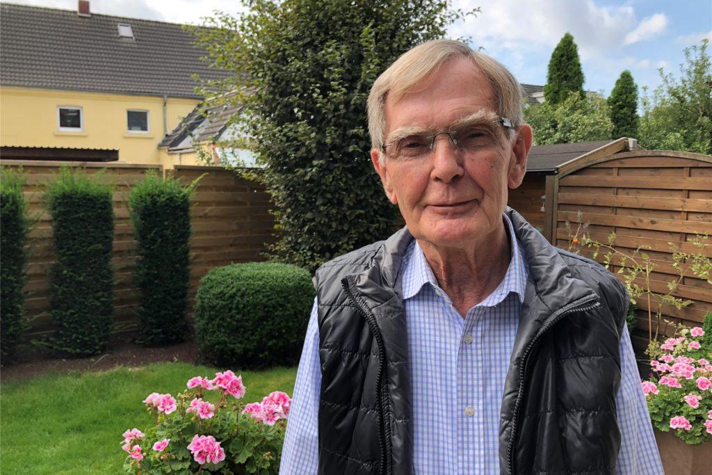 Gerd Grundmann ist der Vorsitzende des Fördervereins Lindenhorster Kirchturm