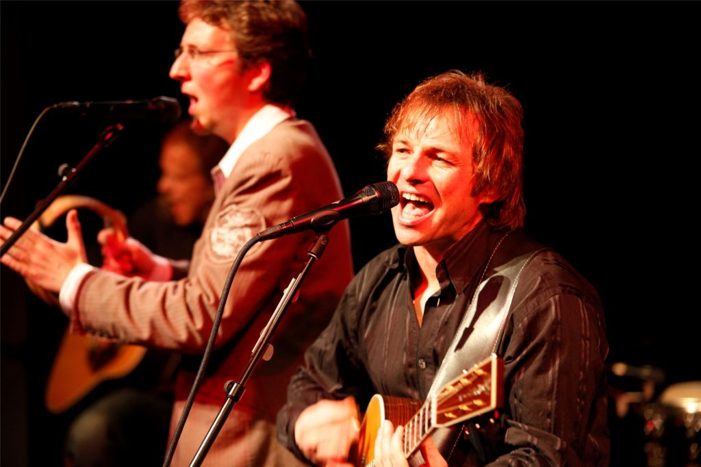 Die Simon & Garfunkel Revival Band soll am 15. Oktober im Heinz-Hilpert-Theater auftreten.