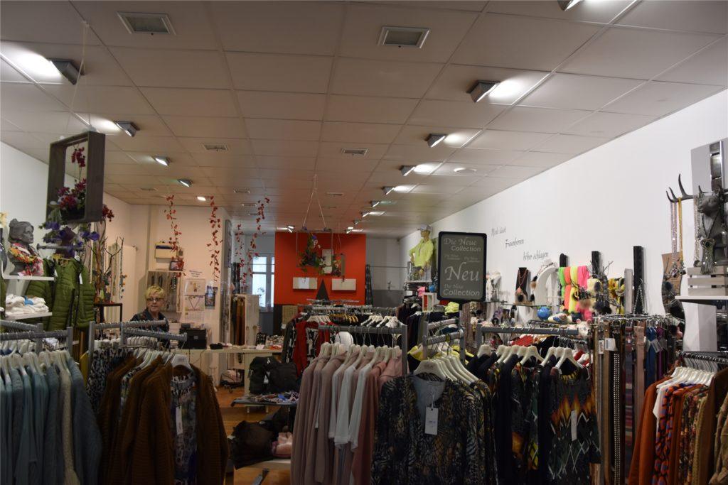 So sieht der Laden Edelbine von innen aus. Hier wird erstmal nicht viel renoviert.