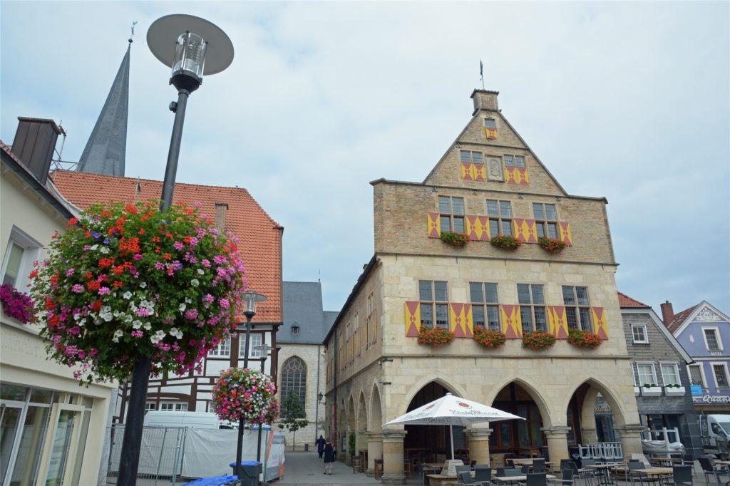 Das Alte Rathaus am Marktplatz: Hier tagt der Werner Stadtrat auch heute noch.