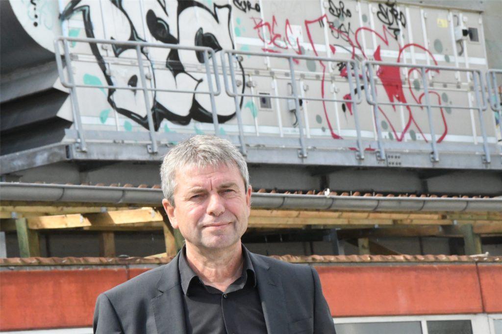 Architekt Karl-Heinz Dörenkämper nannte Mitte 2022 als möglichen Eröffnungstermin.