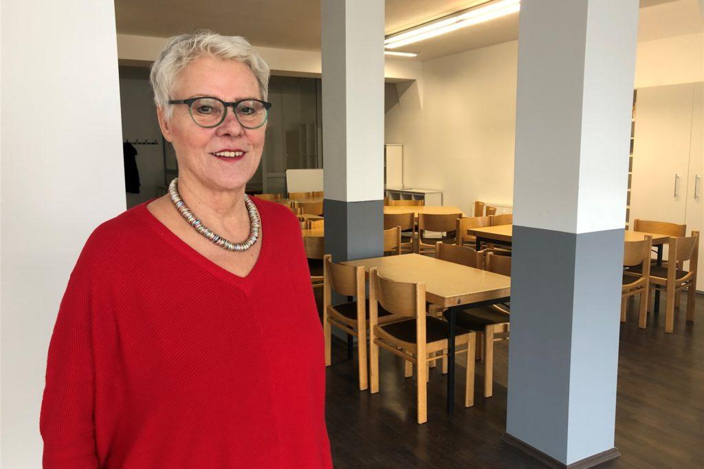 """Die stellvertretende Vorsitzende des Fördervereins """"Gerne in Derne"""", Gertrud Löhken-Mehring ist vehemente Befürworterin eines langfristigen Strukturplans für Derne"""