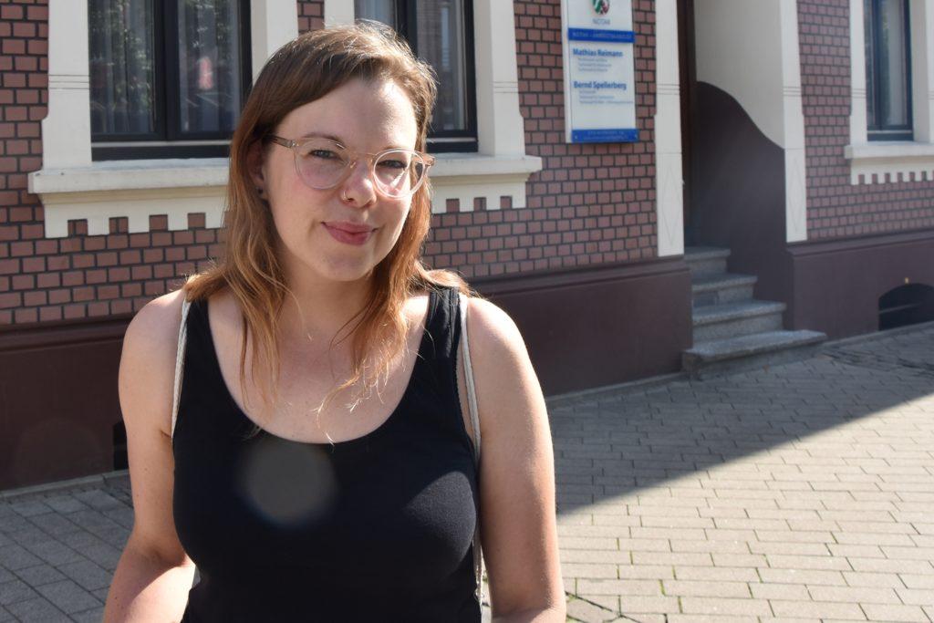 Shana Heitbaum (34) ist Lehrerin und ihr Hauptanliegen sind Kinder und Jugendliche.