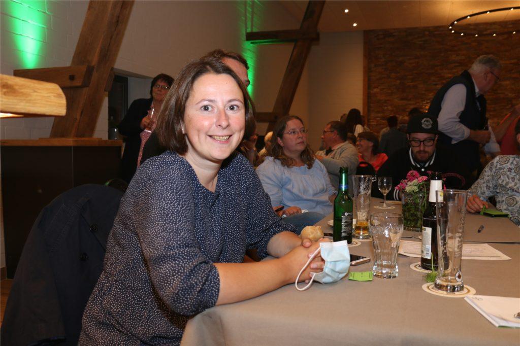 Monika Verspohl (SPD) nahm ihre Niederlage sportlich.