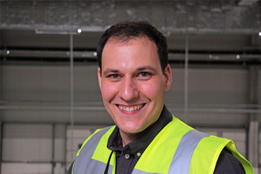 Ivan Saric (33), ist seit 1. April 2019 Standortleiter und seit 1. April 2020 Geschäftsführer des Amazon-Logistikzentrums in Werne.