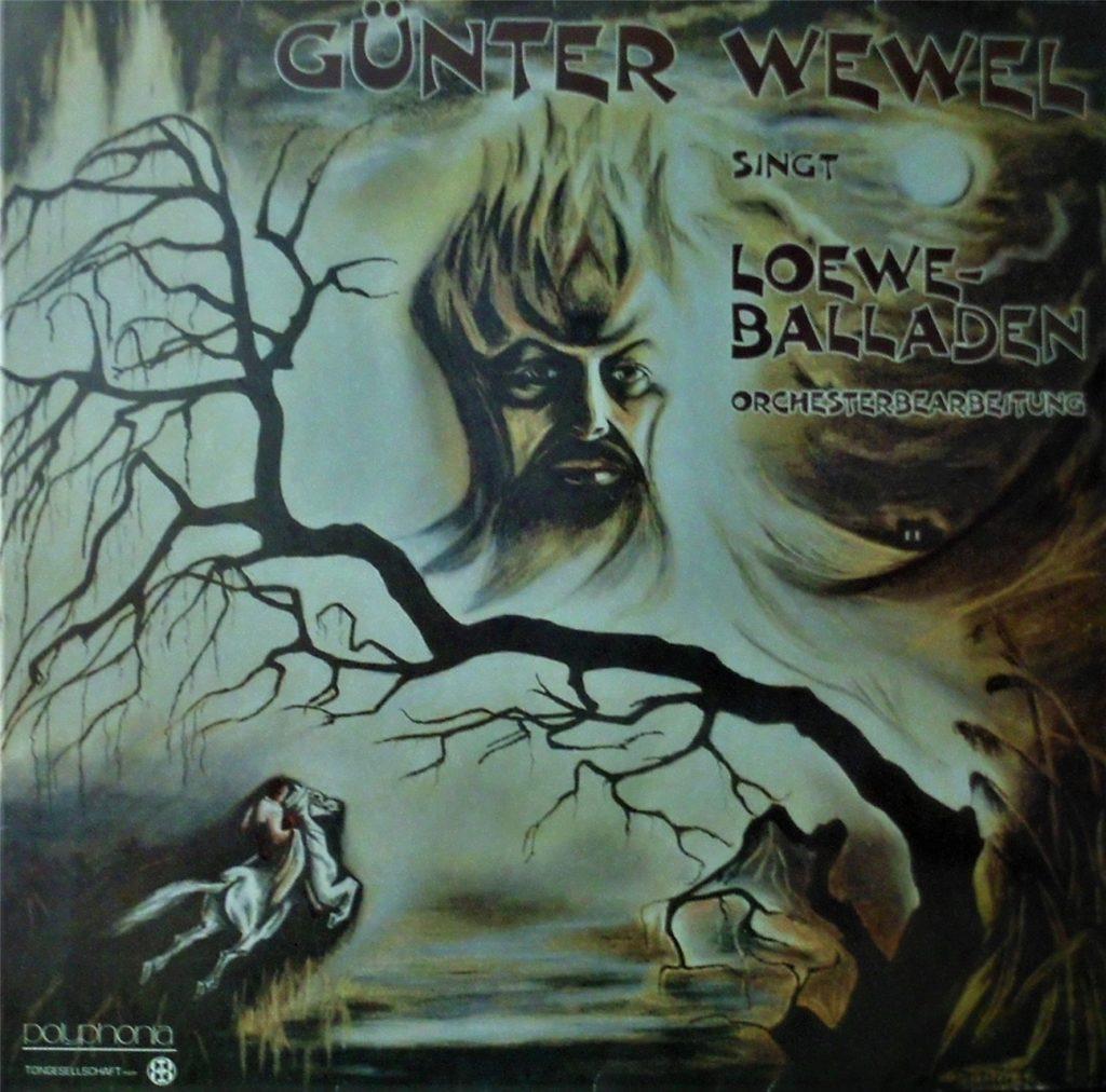 Bruni Braun hat dieses Platten-Cover zu einer LP von Günter Wewel gestaltet