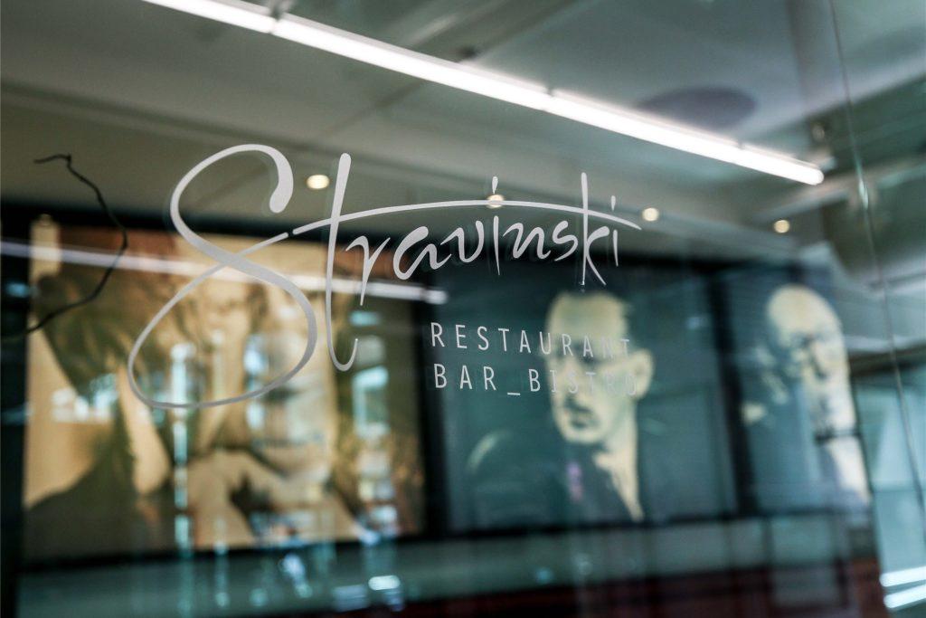 Das Restaurant Stravinski ist gerade für Besucher des Konzerthauses ein beliebter Anlaufpunkt. Auf kulinarische Genüsse müssen die Musikfreunde voraussichtlich zunächst aber ebenso verzichten wie auf Konzerte.