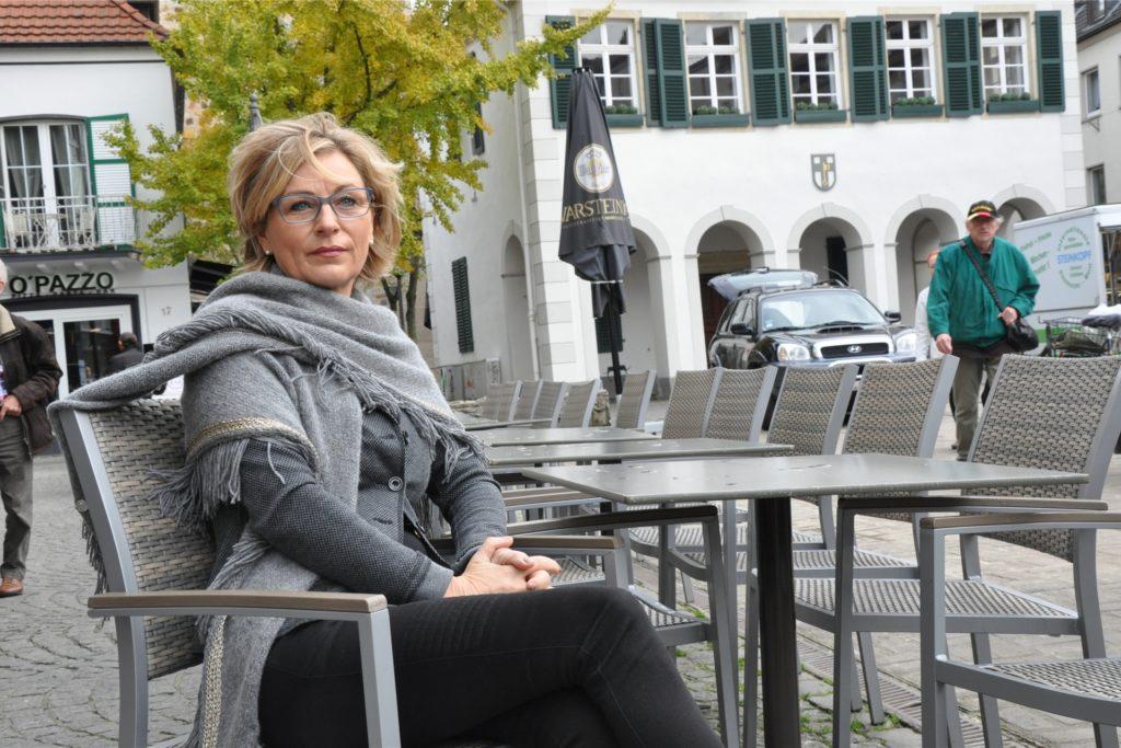 """Christiane Rex, Inhaberin des """"La Piazza"""