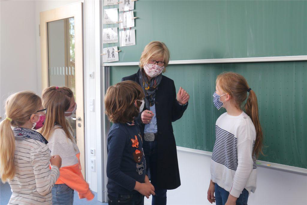 An der Wiehagenschule und den anderen Grundschulen soll es statt Whiteboards weiterhin die klassischen Tafeln geben.