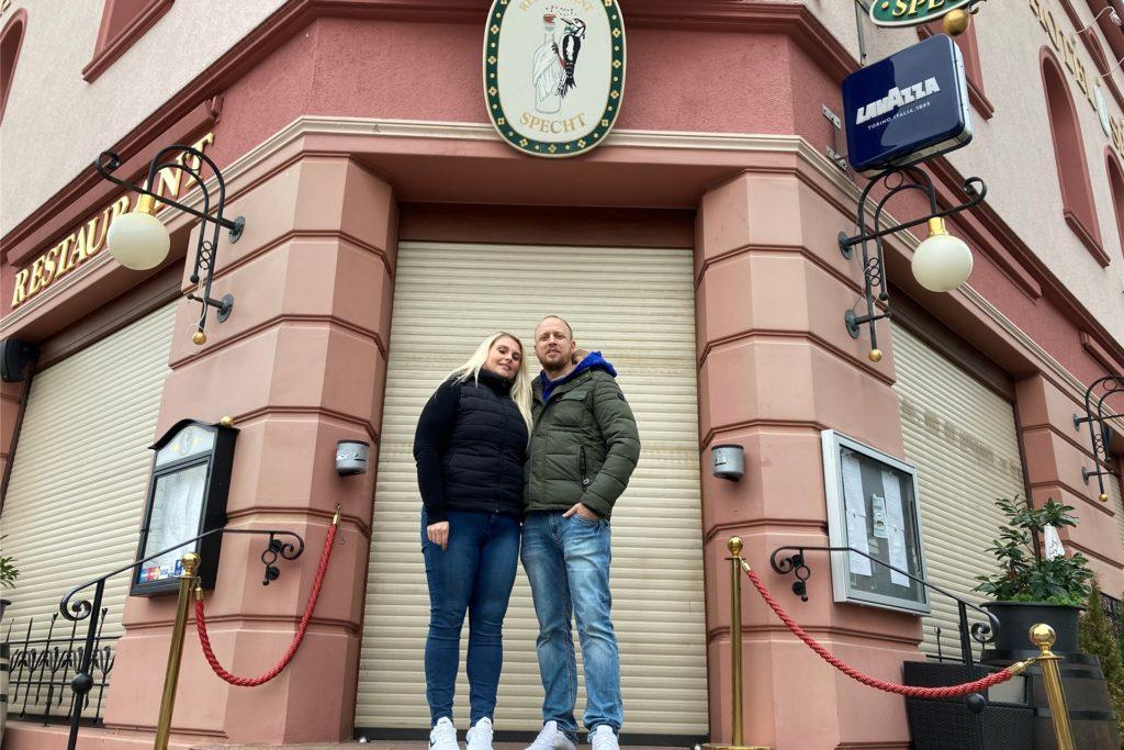 Das Restaurant Specht hat für das Paar aus Bochum eine besondere Bedeutung: Dort hat Thorsten seine Angelina angesprochen.