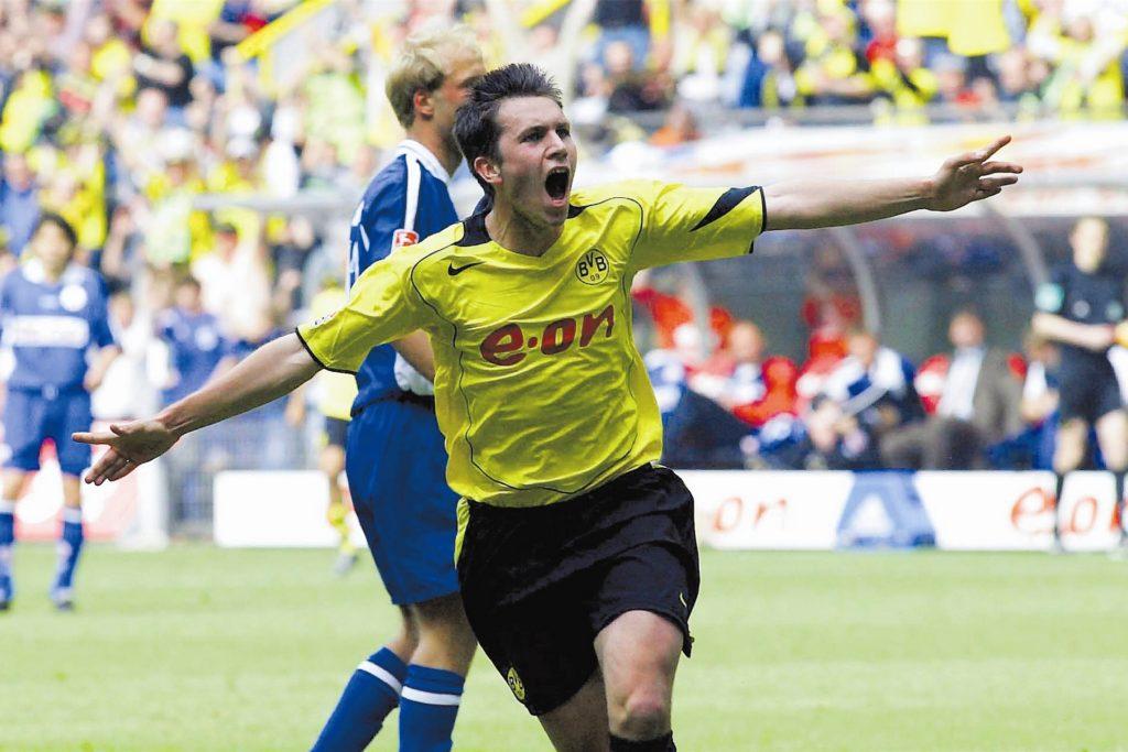 In 98 Pflichtspielen trug Marc-André Kruska das schwarzgelbe Trikot des BVB.