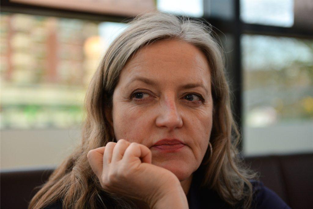 Sybille J. Schedwill spielt die Gerichtsmedizinerin im Dortmund-Tatort und war 2017 zu Gast, um einen neuen Tatort beim Kinofest vorzustellen.