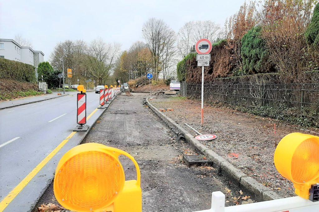 Seit der Sperrung der A40-Auf- und Ausfahrt hat sich der Verkehr auf dem Hellweg deutlich reduziert.