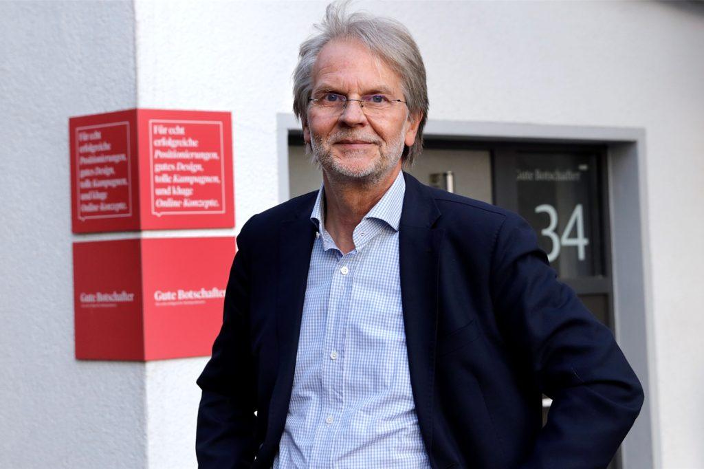 Wolfram Heidenreich ist einer der geschäftsführenden Gesellschafter der Guten Botschafter.