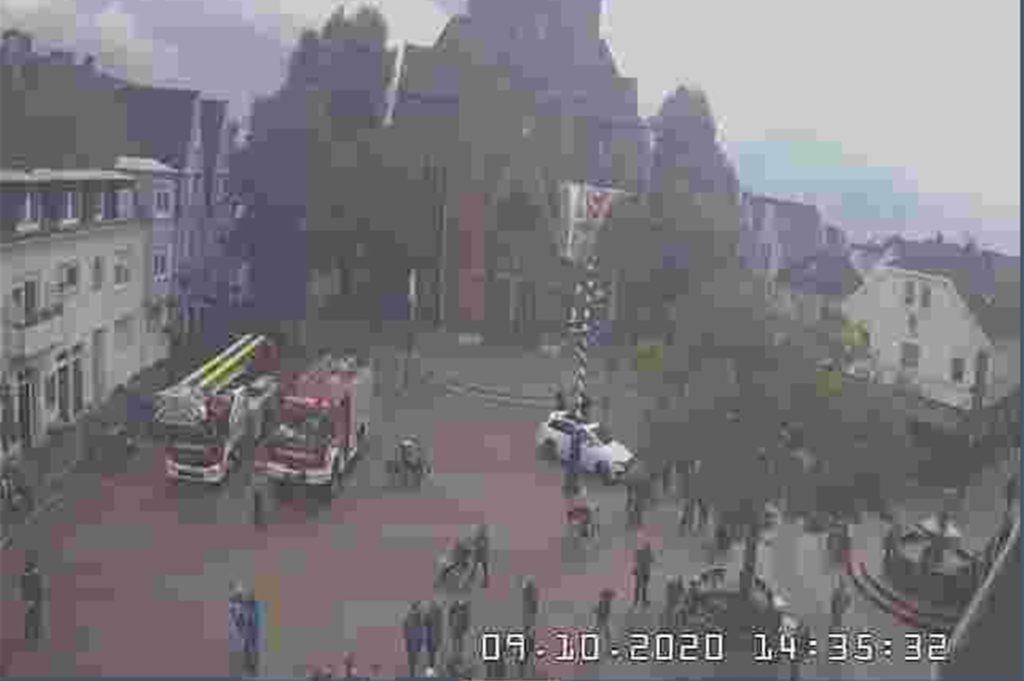 Ein Screenshot aus dem Oktober, als die Webcam noch funktioniert hat.