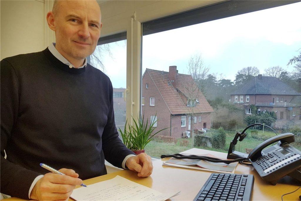 Bürgermeister Franz-Josef Weilinghoff ist, so sagt er, für Informationen und Kritik aus der Bürgerschaft dankbar.