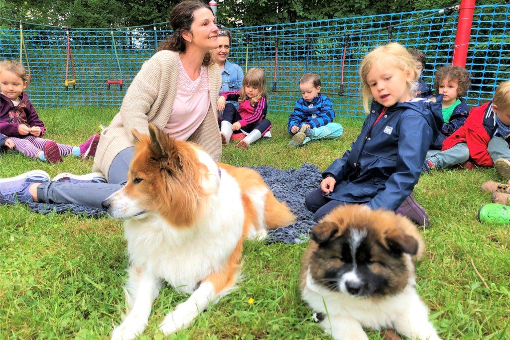 Der Hunde-Nachwuchs in der Kita Kleyer Sonnenkinder gehörte zu den Highlights 2020 im Dortmunder Westen.