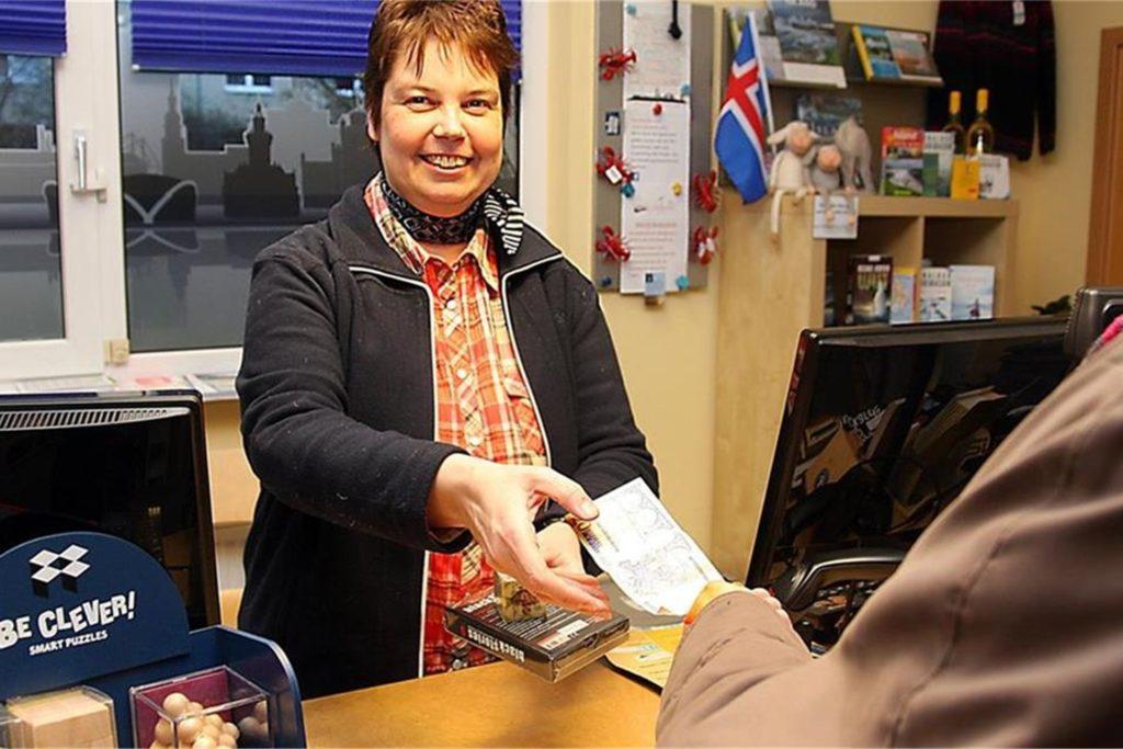 Sabine Kurmann von der Buchhandlung