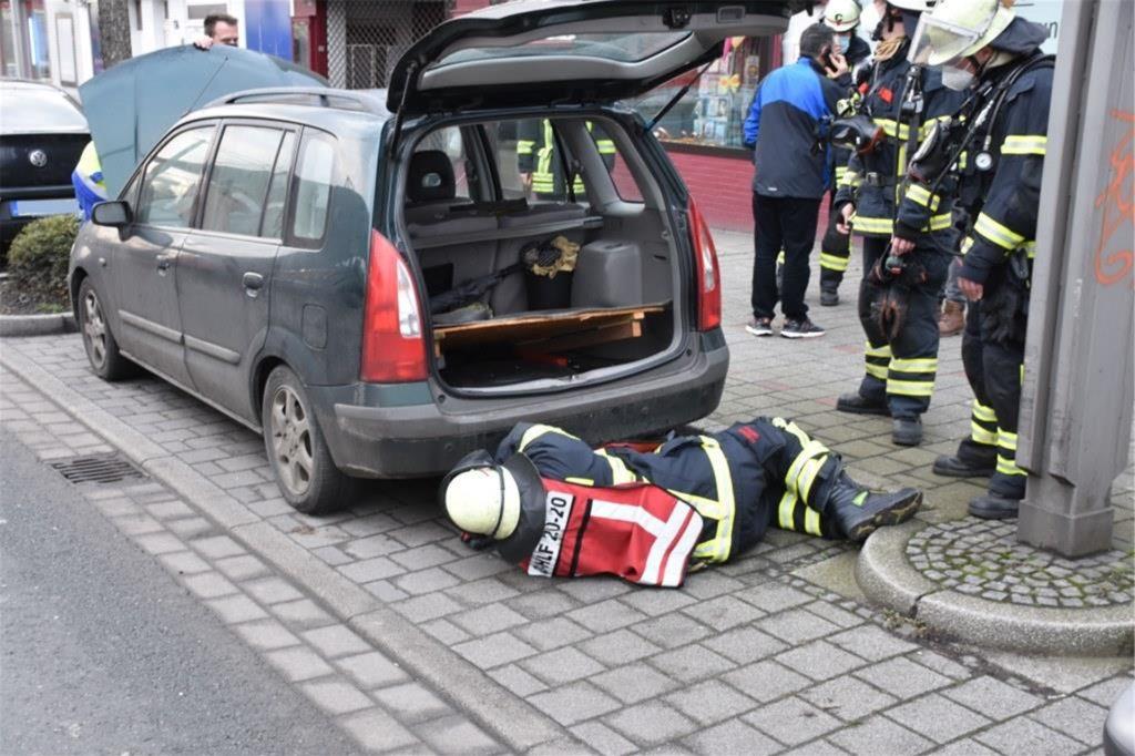Ein defektes Auto erwies sich als Grund des Übels
