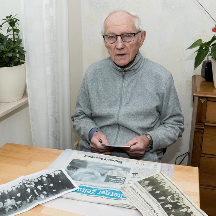 Siegfried Thiel gehörte früher zur Boxstaffel des TuS Haltern, später boxte er auch noch in Hamburg, als er bei der Bundeswehr war.