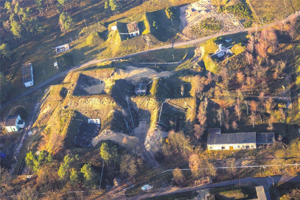 Die Sprengstofffabrik in Sythen, hier ein aktuelles Luftbild, war häufig das Ziel alliierter Bomber.
