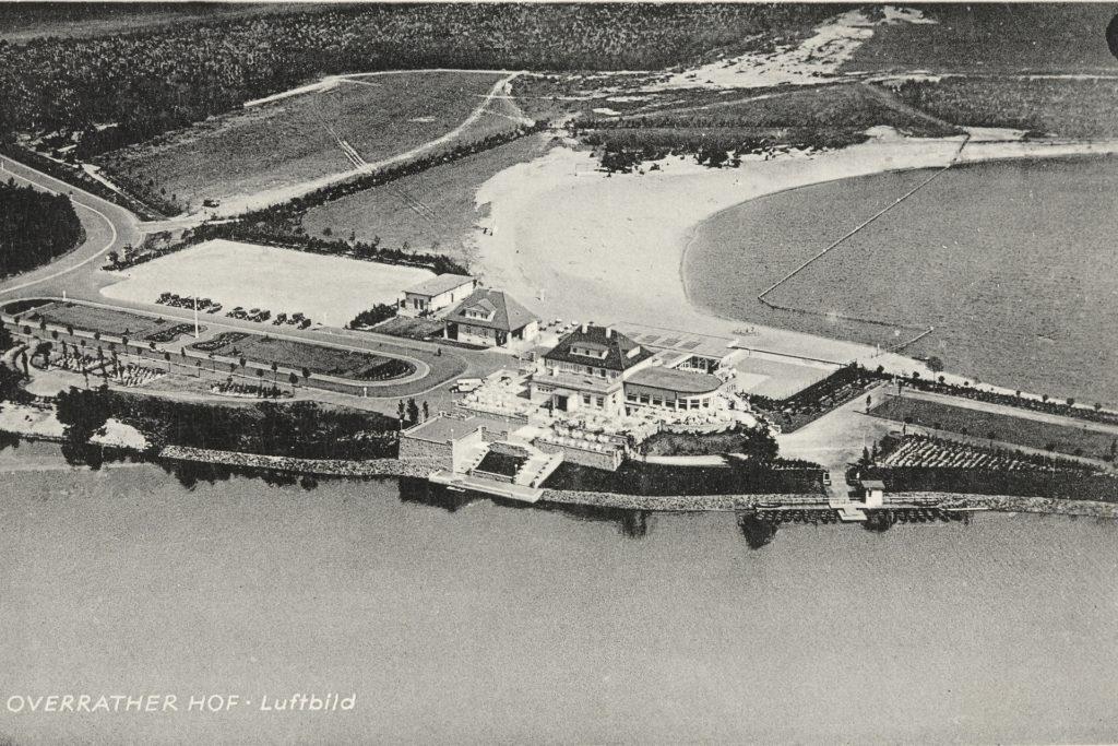 Der Overrather Hof war ein Kurhotel in der Steverbucht und ein Treffpunkt der vornehmen Gesellschaft in Haltern.
