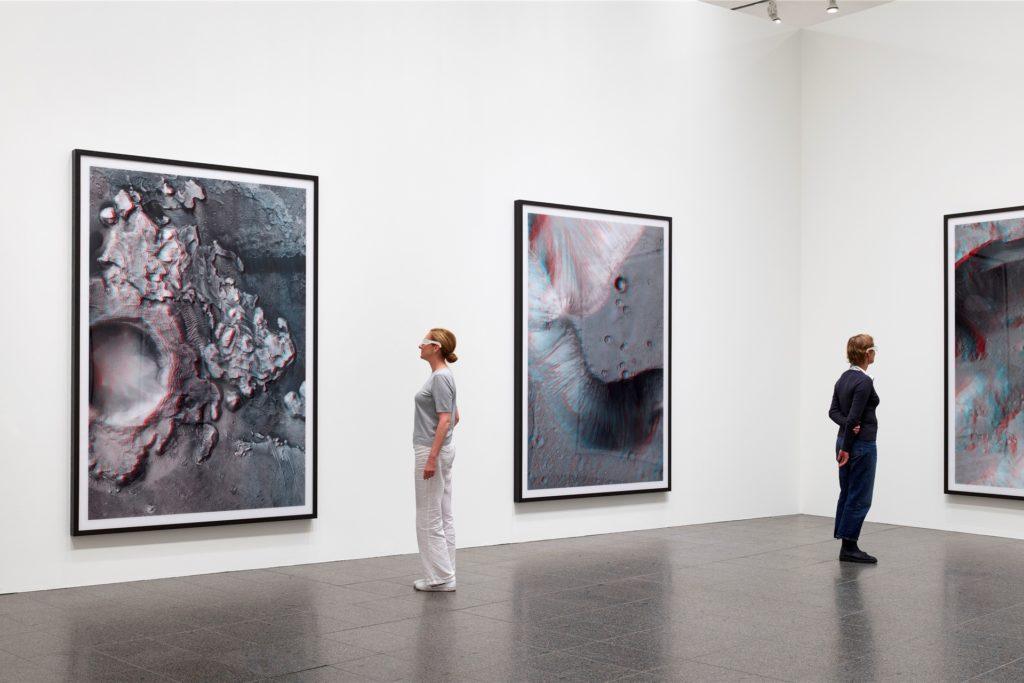 Wird abgebaut: Die Thomas-Ruff-Schau in der Düsseldorfer Kunstsammlung muss Platz machen für Beuys.