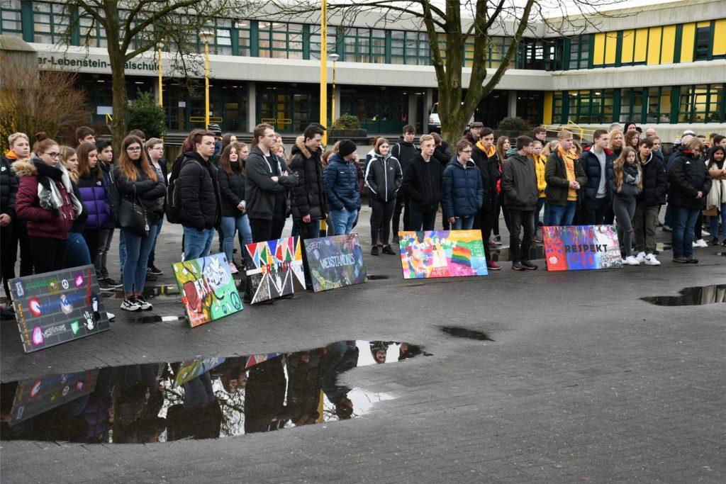 Mit zahlreichen Aktionen haben die Realschüler in den vergangenen Jahren das Holocaust-Gedenken gestaltet.