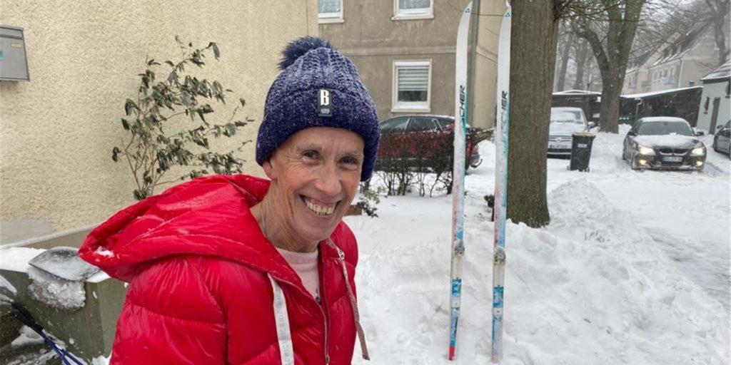 Der Dortmunder Burkhard Dreischer  ist Wetterexperte, liebt Winterwetter und schnallt sich gern die Langlaufski unter.