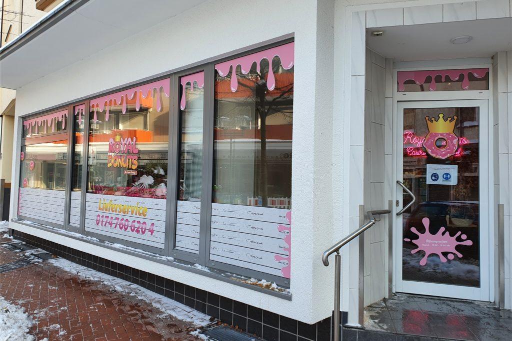 """Die neue """"Royal Donuts""""-Filiale eröffnete am Wochenende in der Mühlenstraße."""